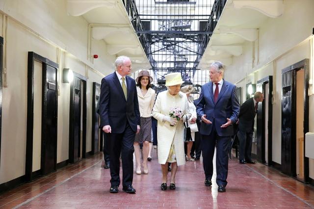 Her Majesty visits former Crumlin Road prison