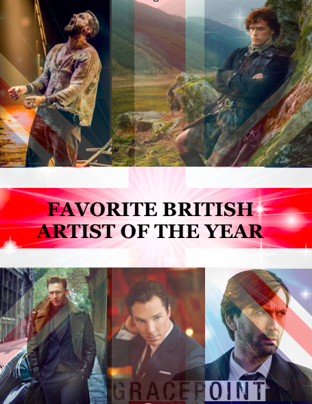 Favorite British Artist of the Year