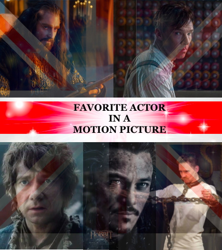 Favorite Actor in a Motion Picture