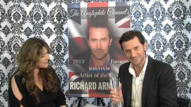 2013-14 Favorite British Artist of the Year, Richard Armitage