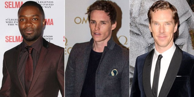 Shoo-in for Oscar nods: Cumberbatch, Redmayne and Oyelowo
