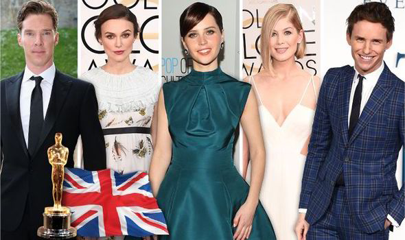 British talent reigns supreme at the Oscars!