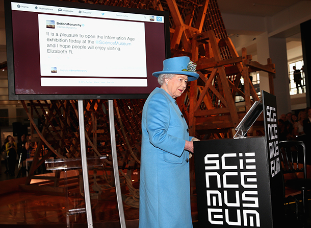 The Queen's First Tweet