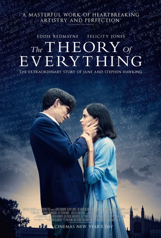 Theory of Everything garnered 5 Oscar nods.