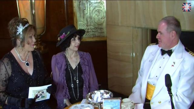 The Downton Dish chats with Commodore Hoard aboard the historic Queen Mary!