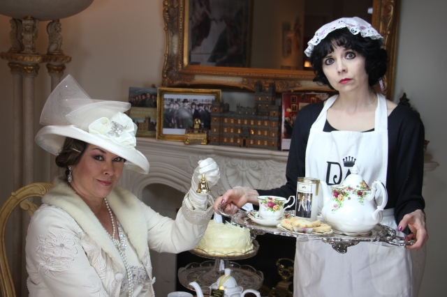 "The Downton Dish enjoys a visit to Rose Tree Cottage. When we say ""enjoys""....."