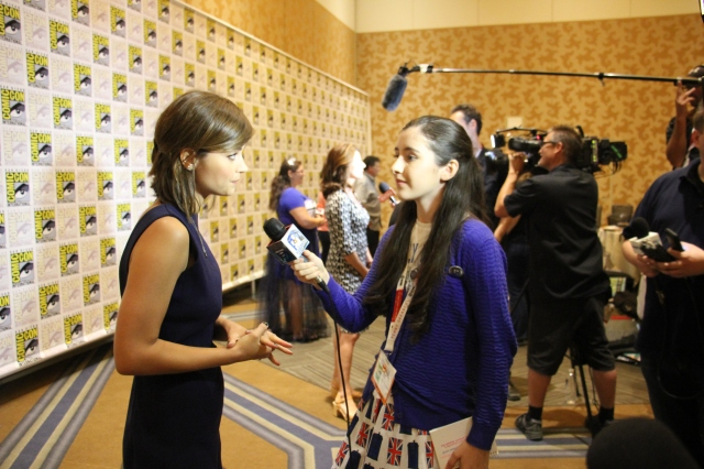 Jenna Coleman was just as nice to interview the second time around. We are going to miss her as Clara!