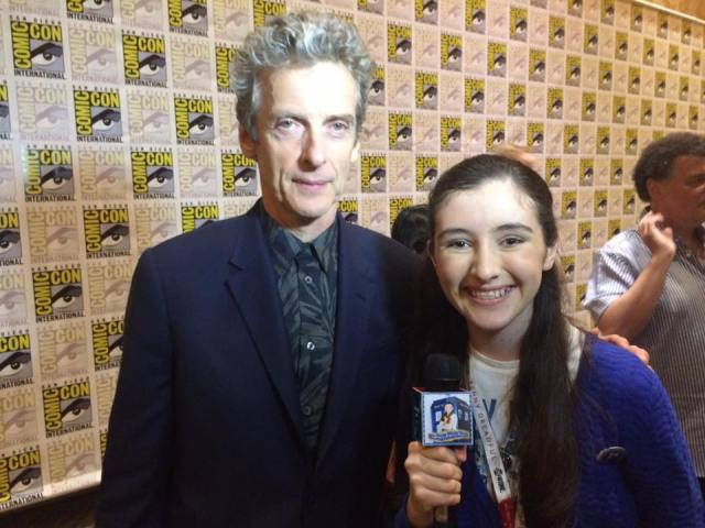 OMG...it's the 12th Doctor!!! I love him!