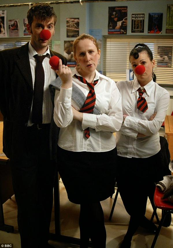 Our all time favorite Red Nose Day skit featured David Tennant and Catherine Tate!