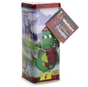 WIN this adorable Walkers Shortbread Biscuit Tin featuring the Lochness Monster!