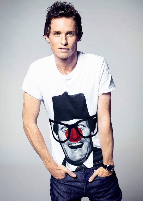 Eddie Redmayne joins RND USA!  (Photo from RND UK 2013)