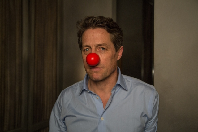 Hugh Grant shows his support for RND USA