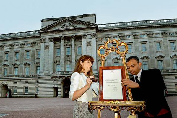 A Royal Proclamation announcing Prince William's birth.