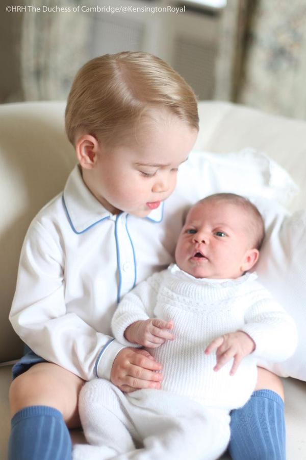 Royal Siblings, Prince George and Princess Charlotte
