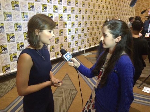 Interviewing Jenna Coleman (Clara Oswald)
