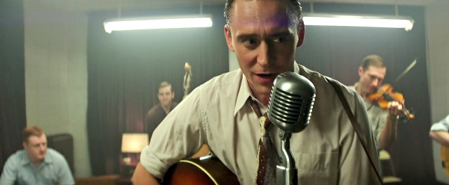 Showing he has the chops to do his own singing, Hiddleston nails Hank Williams!