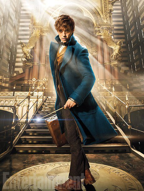 Redmayne makes an AWESOME wizard!