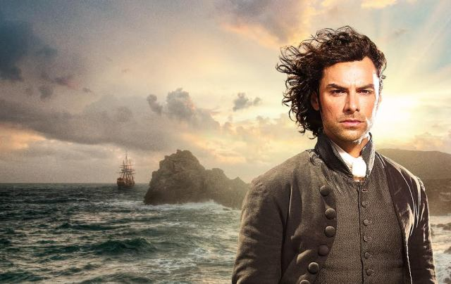 Aidan Turner is the sexy British soldier, Ross Poldark
