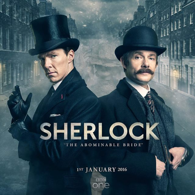 A New Year's Day treat for us all...Sherlock is back!