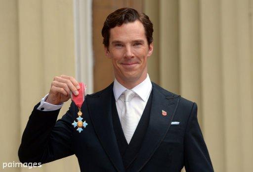 Benedict Cumberbatch, CBE
