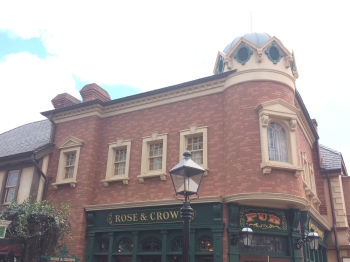 Epcot's Rose & Crown Pub and Dining Room.