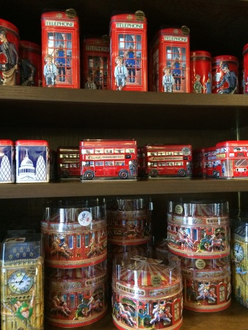 British treats and tins.