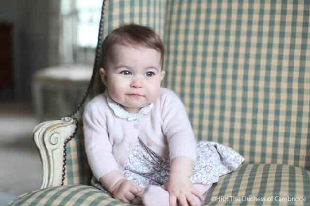 Princess Charlotte, 6-months old.