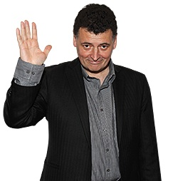 Steven Moffat, handing over the keys to the TARDIS after the 10th Season