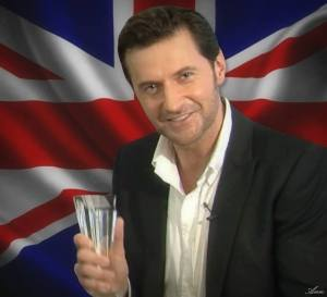 2014 Favorite British Artist of the Year, Richard Armitage  Photo Art by Ann Boudreau