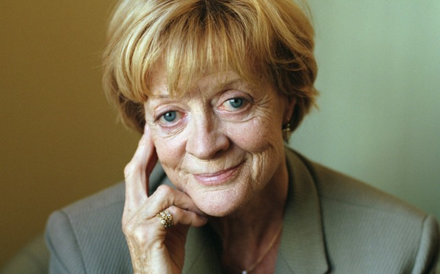 Triple nominee, Dame Maggie Smith. Best Actress in a Television Series, Best Actress in a Motion Picture, Favorite British Artist of the Year