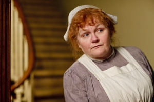 Lesley Nicol portrays the lovable Mrs Patmore