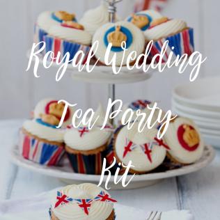 Royal Wedding Tea Party Kit!