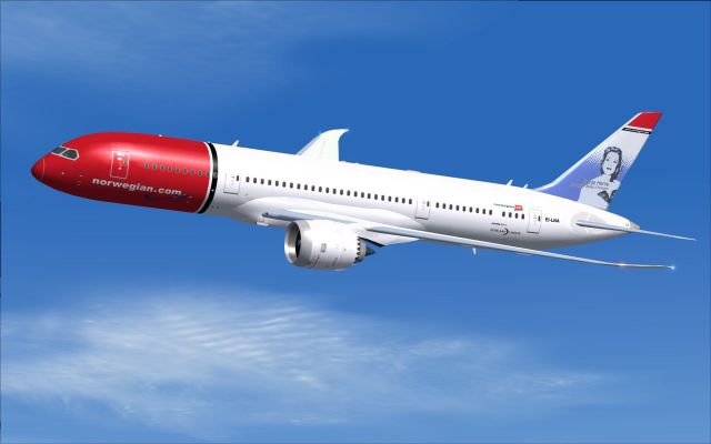 norwegian-plane