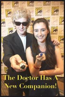 Meeting The Doctor for the final time (as The Doctor!) I was 15.