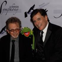 With Paul Williams and Kermit