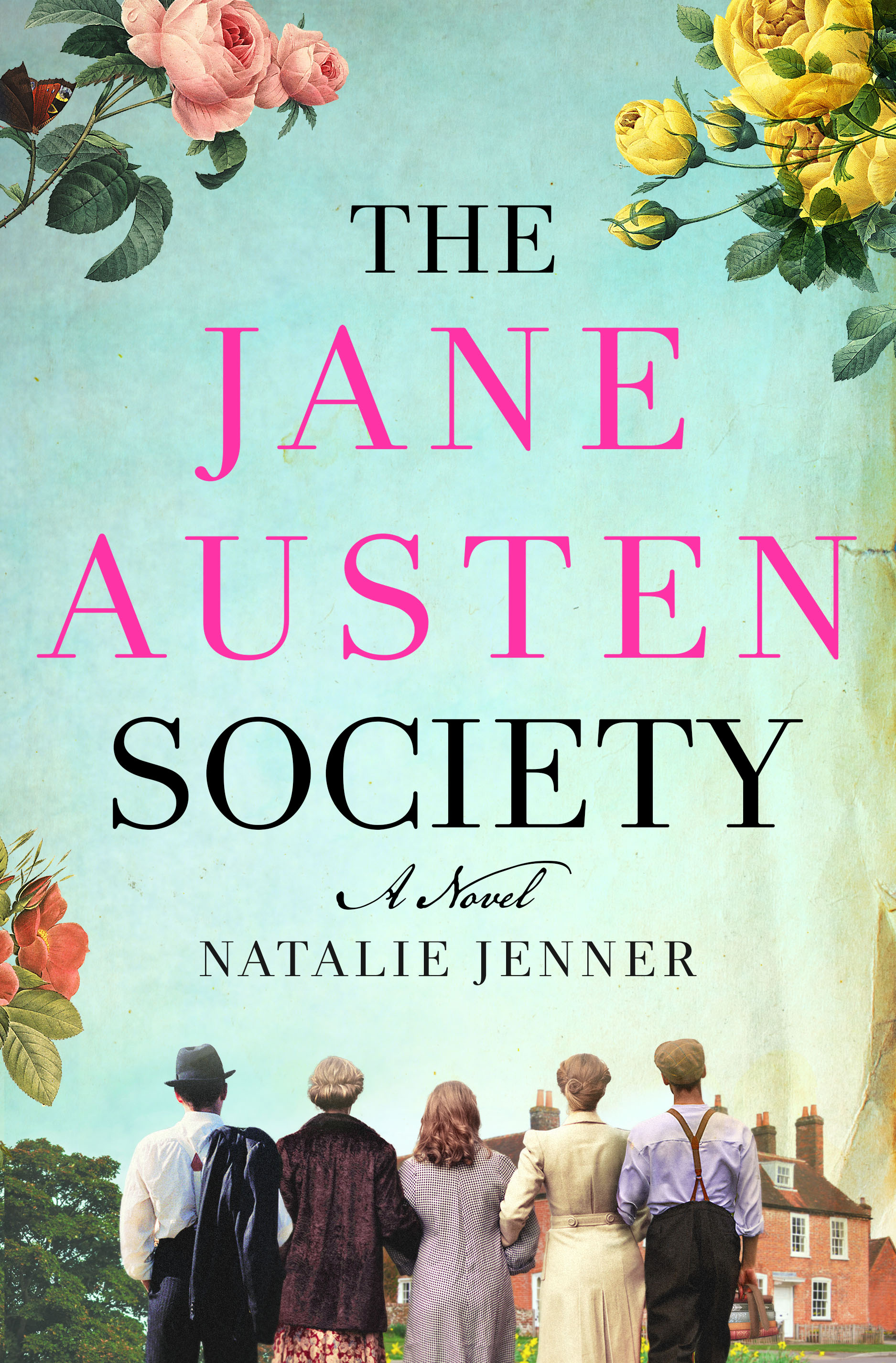 Book cover of The Jane Austen Society